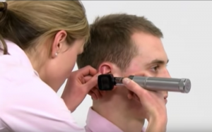 Ear Exam Position 2