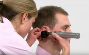 Ear Exam Position 2